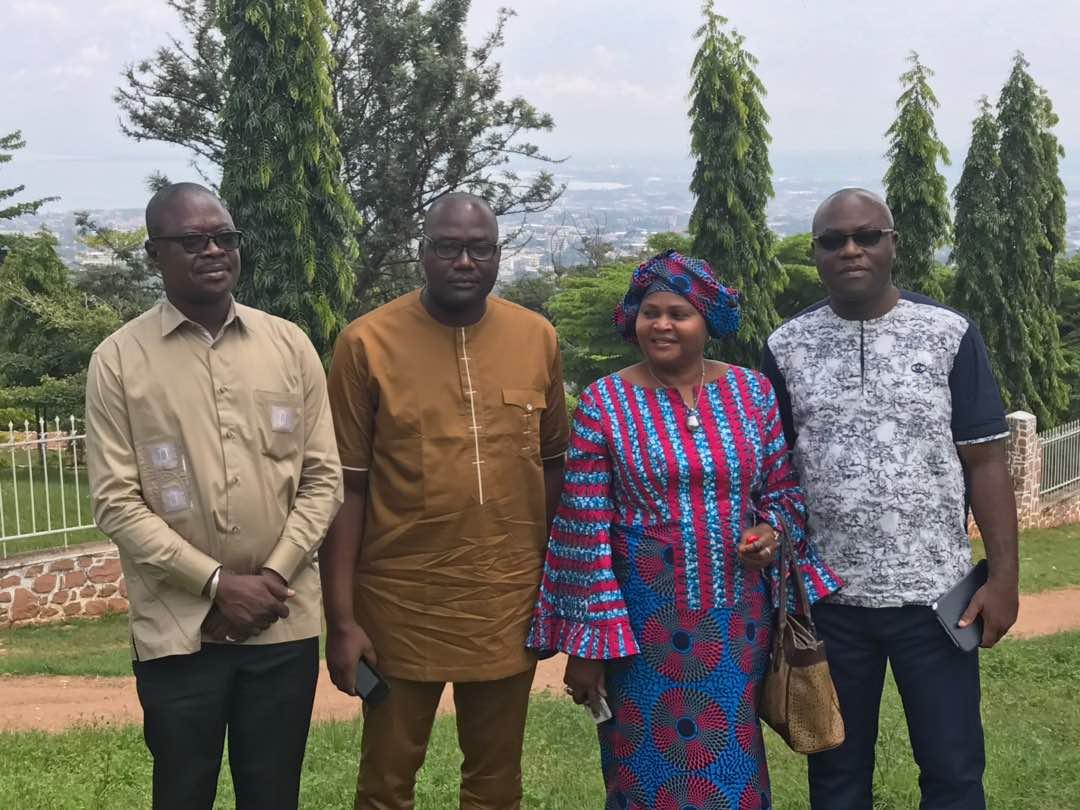 Visite des sites de la ville de Bujumbura