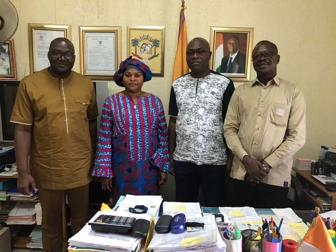Visite des Parlementaires Ivoiriens