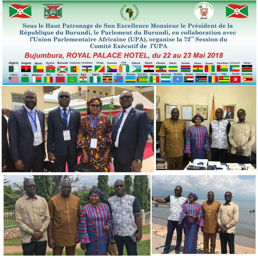 Visite parlementaire a bujumbura